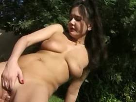 Babes swap cum in gangbang outdoor