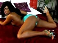 Amazing black vixen enjoys oral sex with her lover